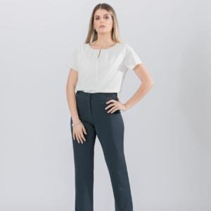 Pantalón cintura combinada